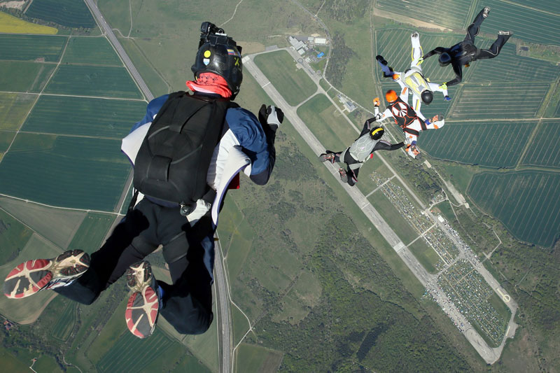 Sky diving school Kindel Eisenach