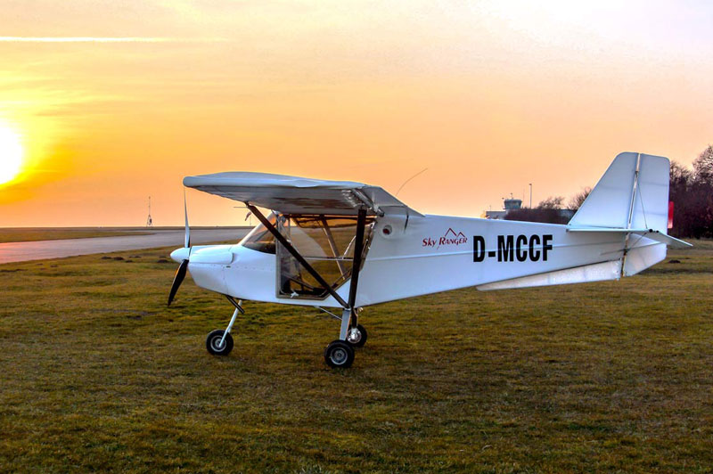 Microlite flight school Eisenach