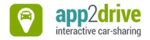 app2drive interactive car-sharing Logo