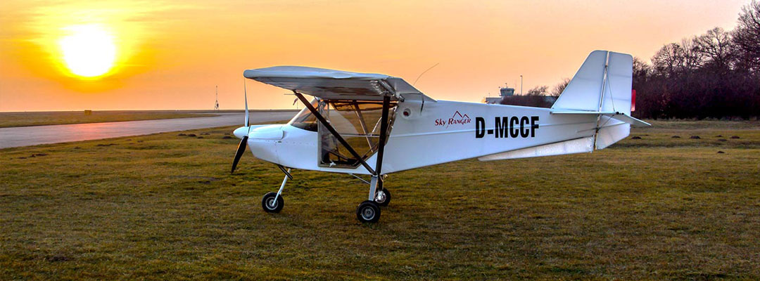 Flight schools at airfield Kindel